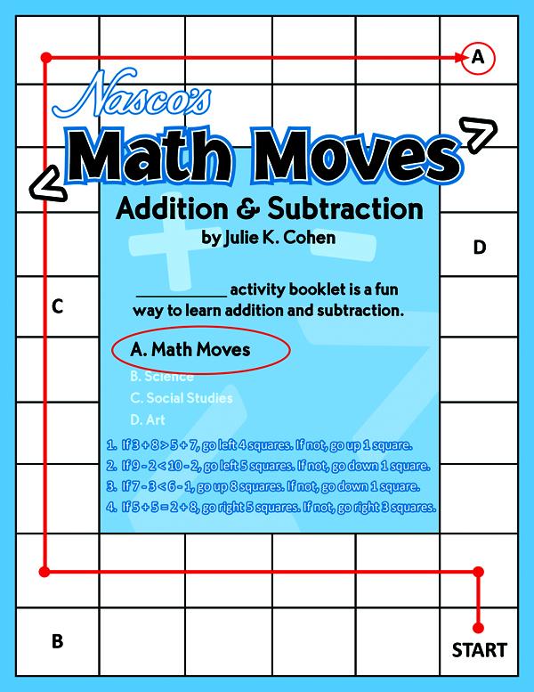 Julie K. Cohen - Math Moves Addition & Subtraction Math Puzzle Book